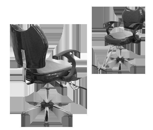Imporpartes y sillas de peluqueria - Sillas de espera para peluqueria ...